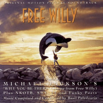 Michael Jackson Free Willy Soundtrack Cd Semnvo 1ra Ed Usa95