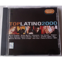 Top Latino 2000 Cd Shakira Monicanaranjo Ov7 Chayanne Mdo
