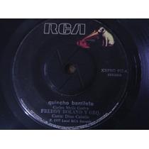 Single Vinilo 45 Rpm Freddy Roland Y Orq Con Dino Garcia1977