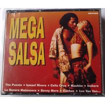 Mega Salsa Boxset De 4 Cds 1996 Celia Cruz Tito Puente Bfv