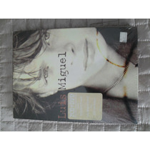 Digipack Luis Miguel 2 Cds + Dvd De Colección Seminuevo Raro