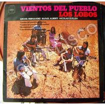 Españoles, Los Lobos, Vientos Del Pueblo, Lp 12´,