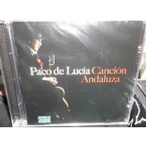Paco De Lucia Cancion Andaluza Cd Sellado