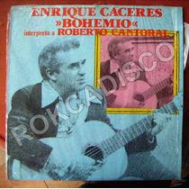 Bolero, Enrique Caceres, Boemio, Lp 12´, Hecho En México