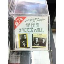 Dos Grandes Con Historia Ana Belen Y Victor Manuel Cd Nuevo
