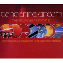 Tangerine Dream Virgin Years 1977 - 1983 Box Set 5cd Europeo