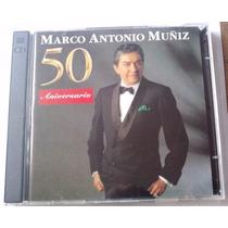 Marco Antonio Muñiz 50 Aniversario Cd Doble 1a Ed 1996 Bvf