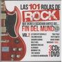 Las 101 Rolas De Rock Vol. 2 / 3 Cd + 1 Dvd