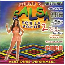 Cd Fiebre De Salsa Por La Noche 2 Varios Artistas Año 2001