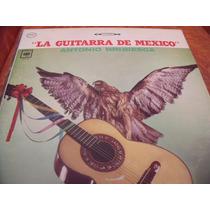 Lp Antonio Bribiesca La Guitarra De Mexico, Envio Gratis