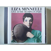 Liza Minelli Cd Live At The Olympia In Paris