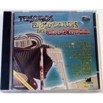 Cd Tesoros Musicales De Colombia Exitos Sonideros Originales