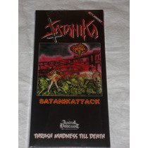 Satanika Satanikattack Cd Die Hard Box Thrash Black Metal