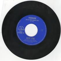 Oscar Athie Perdoname Y Tu Y Yo Acetato 45 Rpm.1982