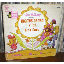 Ricitos De Oro Y Los Tres Ositos Mini Lp Walt Disney