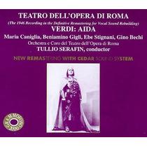 Opera Giuseppe Verdi Aida Cd Italian Music Clasica Disco Vv4