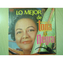 Toña La Negra 3 Lps Caja Dura Lo Mejor De