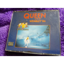 Queen - Live At Wembley 2 Cds,nacional