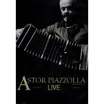 Astor Piazzolla. Live. Dvd Nuevo.
