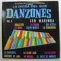 Danzones Con Marimba / 30 Exitos 3 Discos Lp Vinilo