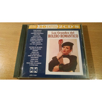 Los Grandes Del Bolero Romantico, 30 Exitos, Cd Album Doble