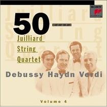Opera Debussy Haydn Verdi Cuartetos De Cuerdas Clasic Cd Vv4