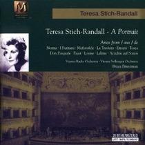 Teresa Stich-randall A Portrait Verdi Bellini Opera Cd Vv4