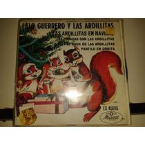 Disco Acetato 45 Rpm De: Lalo Guerrero Y Las Ardillitas