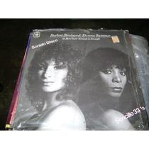 Barbara Streisand / Donna Summer - No More Tears 33 Rpm Nac