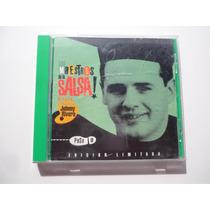 Johnny Rivera Los Maestros De La Salsa Cd 1996 Rarisimo!
