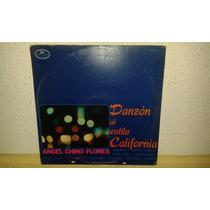 Disco Acetato De Danzon Al Estilo California, Angel Chino Fl