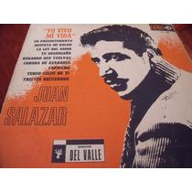 Lp Juan Salazar, Yo Vivo Mi Vida, Envio Gratis