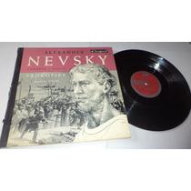 Alexander - Nevsky Cantata Opus 78 Prokofiev Mario Rossi Lp