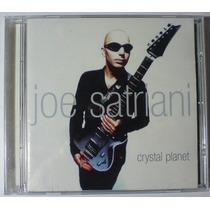 Joe Satriani Crystal Planet Cd Mexicano Año 2002 Bvf