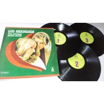 Los Arriagada Tres Corazones Hechos Cancion 3 Lps Vinyl