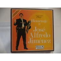 Homenaje A Jose Alfredo Jimenez Box Set 8 Lps De Coleccion