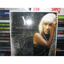 Yuri Cd Single Invencible Cd Single Nuevo