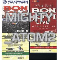 Bon Jovi Boletos De Coleccion Guns Priest Ac Dc Maiden Hm4