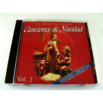 Canciones De Navidad Los Mejores Villancicos Cd Vol 2