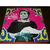 Lola Beltran La Grande De La Cancion Ranc 3 Discos Lp Vinilo
