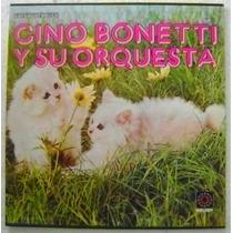 Gino Bonetti Y Su Orquesta 3 Discos Lp Vinilo