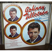 Johnny Tillotson Lp Los Grandes Exitos...