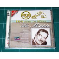 Cd Doble 100 Años De Musica Marco Antonio Muñiz Como Nuevo