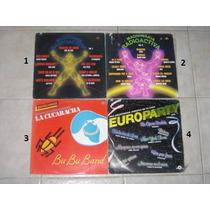 Lote 4 Discos Lps Hi Energy Nrg Acetato Vinil $129 Cada Uno