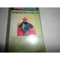 Cassette Original Serie 20 Exitos Norteños Vol Ii