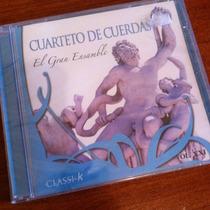 Cd Cuarteto De Cuerdas El Gran Ensamble Música Clasica