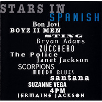 Cd Original Stars In Spanish The Police Scorpions Suzanne Ve