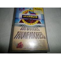 Cassette Original Acapulco 97 Grandes Triunfadores 15 Exitos