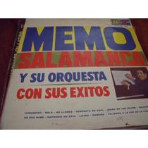 Lp Memo Salamanca Y Su Orquesta, Envio Gratis