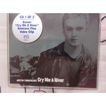 Justin Timberlake Cry Me A River Cd Single Con Video